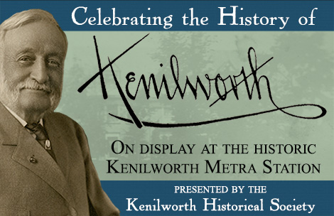 2014 History of Kenilworth Metra Station Exhibit